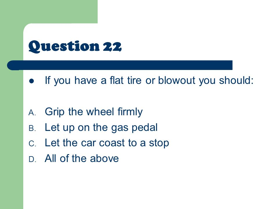 Drivers Education State Exam Review  ppt video online download