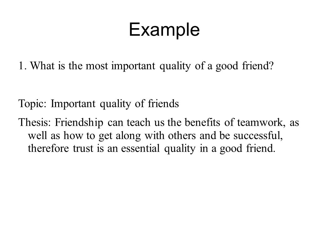 Benefits of friendship essay