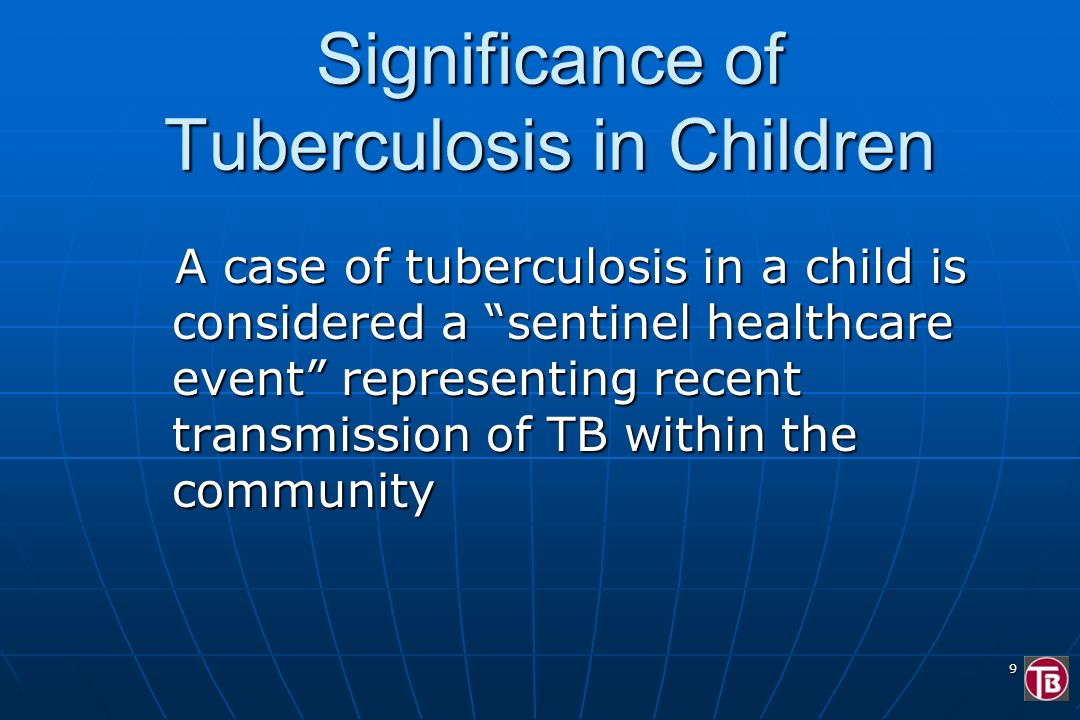 Significance of Tuberculosis in Children