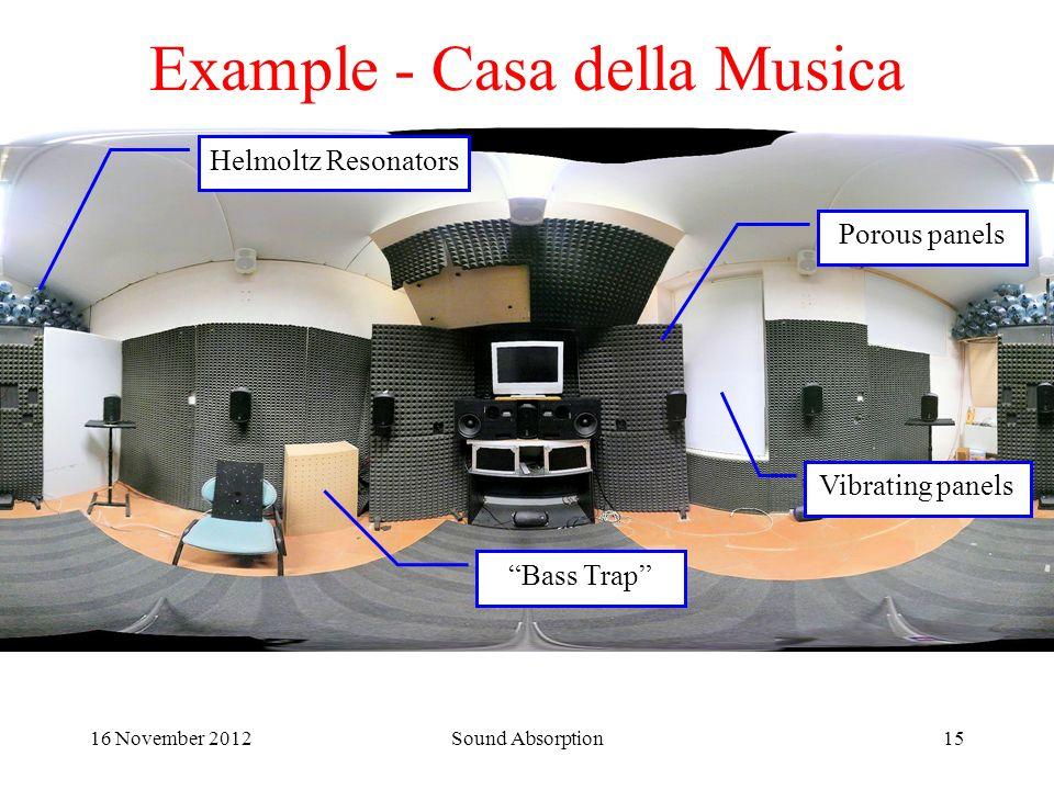 Example - Casa della Musica