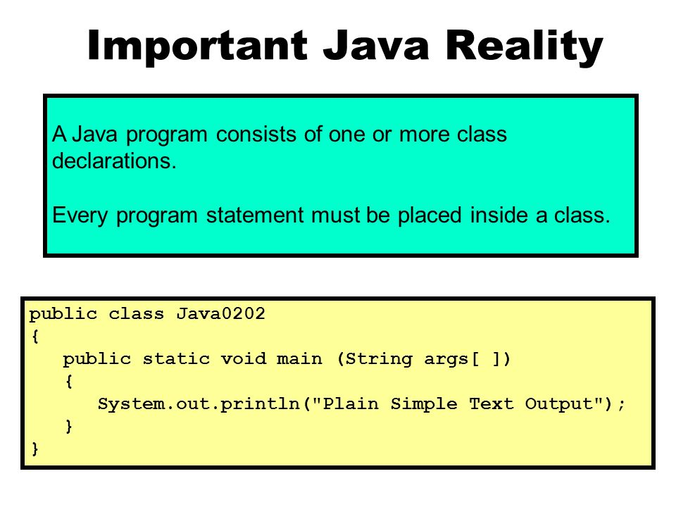 Exposure java chapter 14 slides serious oop powerpoint important java reality toneelgroepblik Gallery