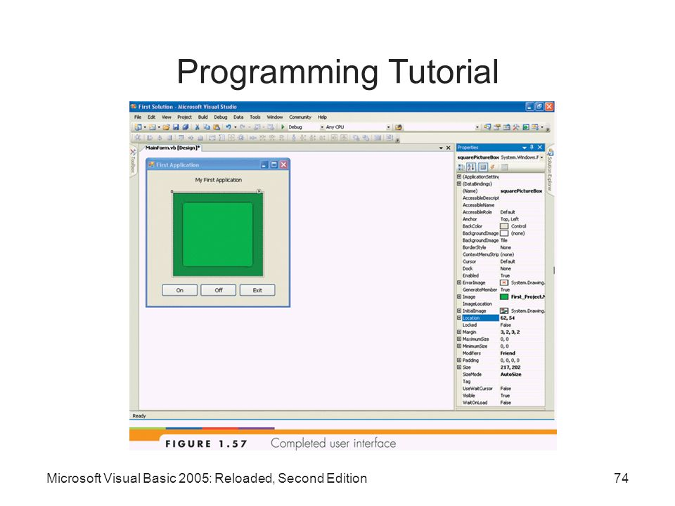 Programming Tutorial Microsoft Visual Basic 2005: Reloaded, Second Edition