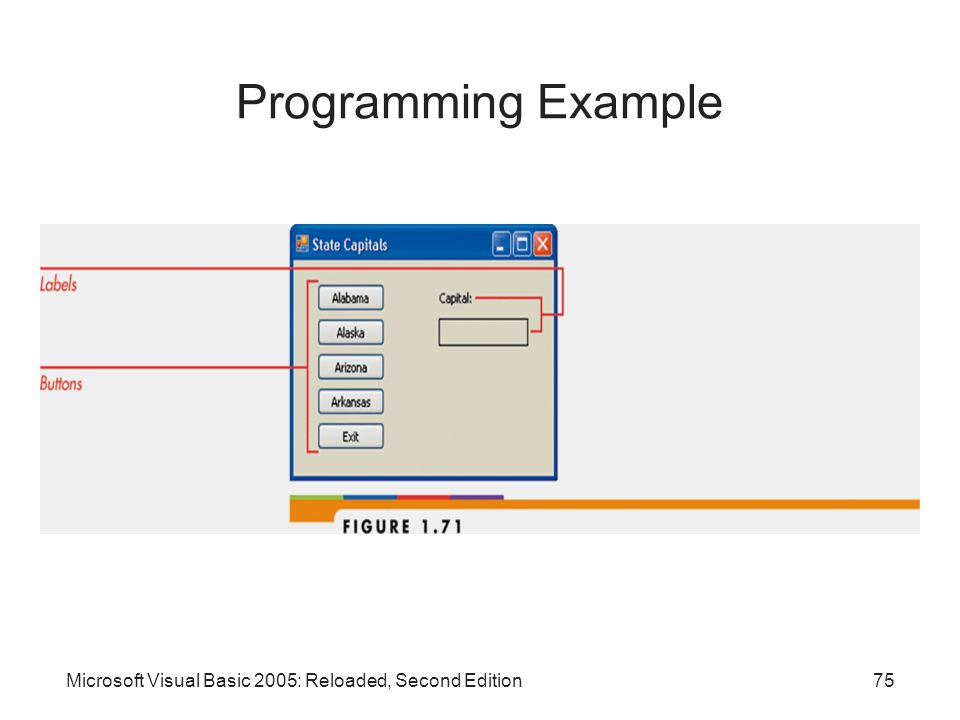 Programming Example Microsoft Visual Basic 2005: Reloaded, Second Edition