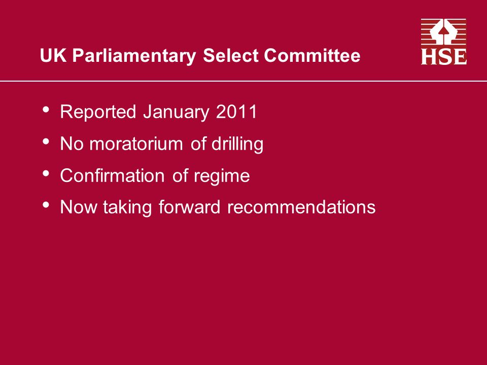 UK Parliamentary Select Committee