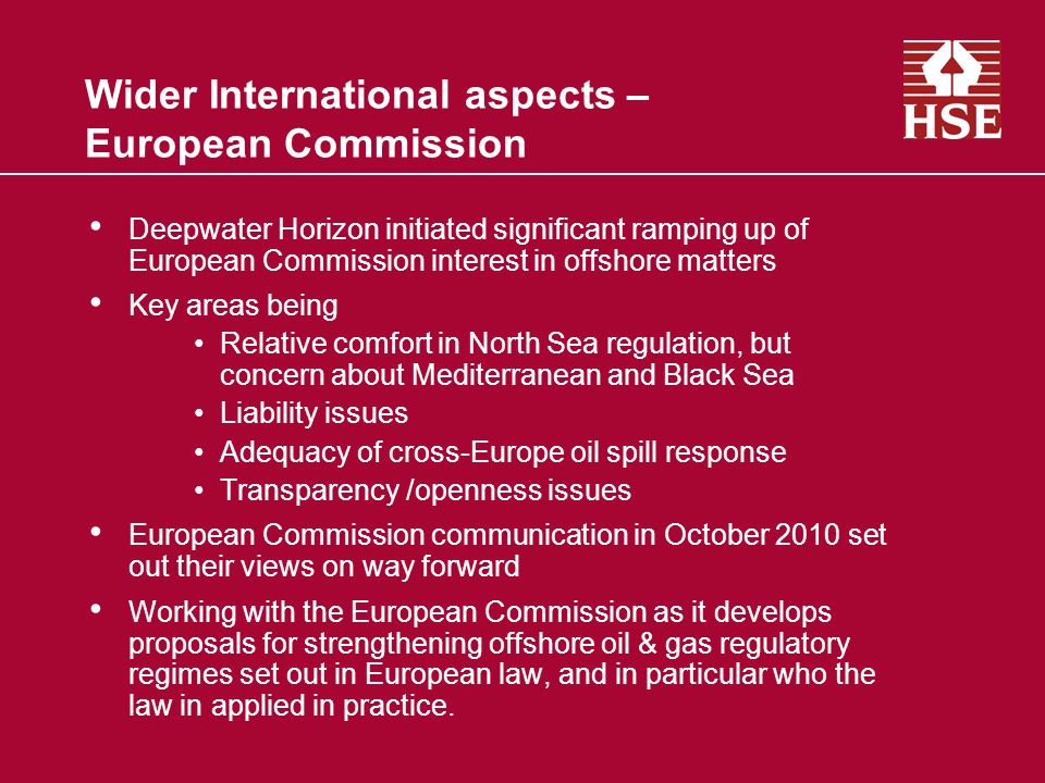 Wider International aspects – European Commission
