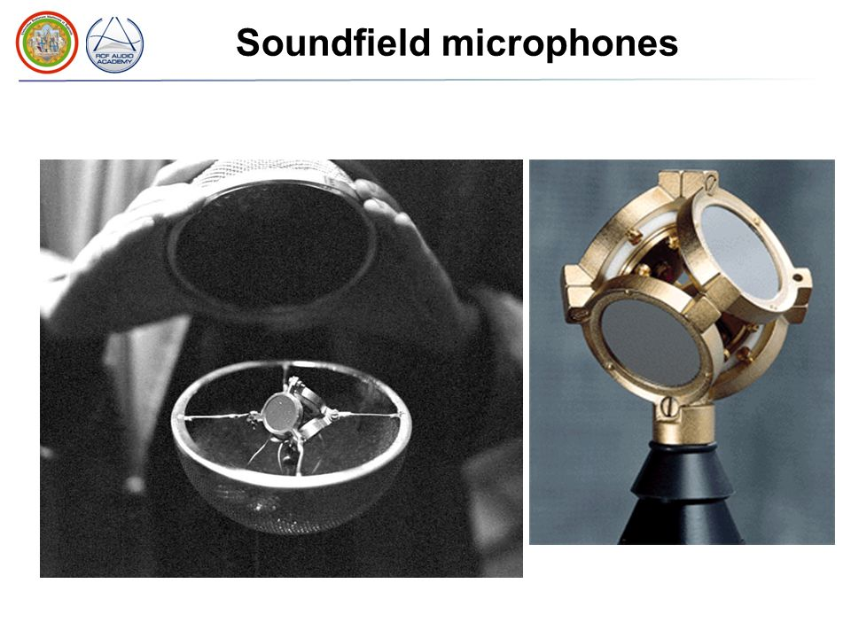 Soundfield microphones