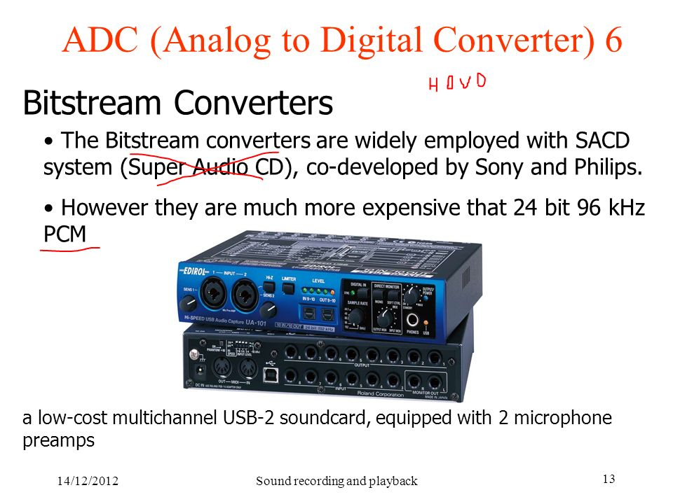 ADC (Analog to Digital Converter) 6