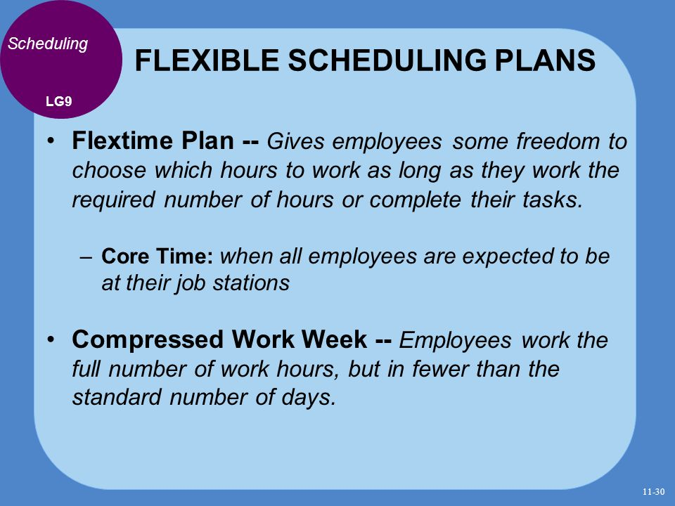 Human resource management finding and keeping the best for Compressed work week proposal template