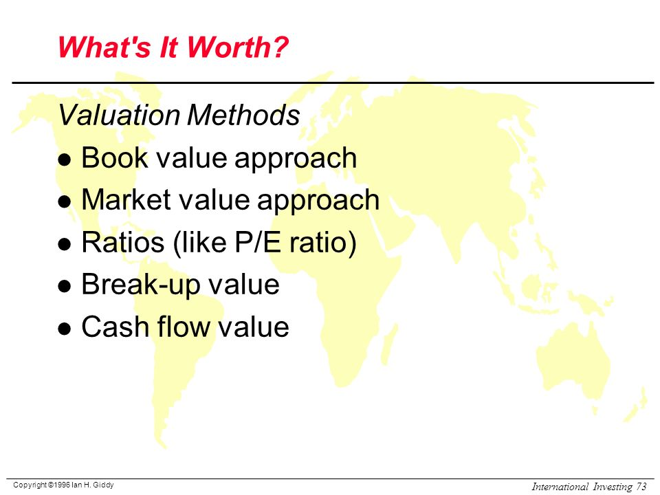discount cash flow valuation of upstream Chapter 5 discounted cash flow valuation i definitions topic: annuity 1 an annuity stream of cash flow payments is: a) a set of level cash flows occurring each time period for a fixed.