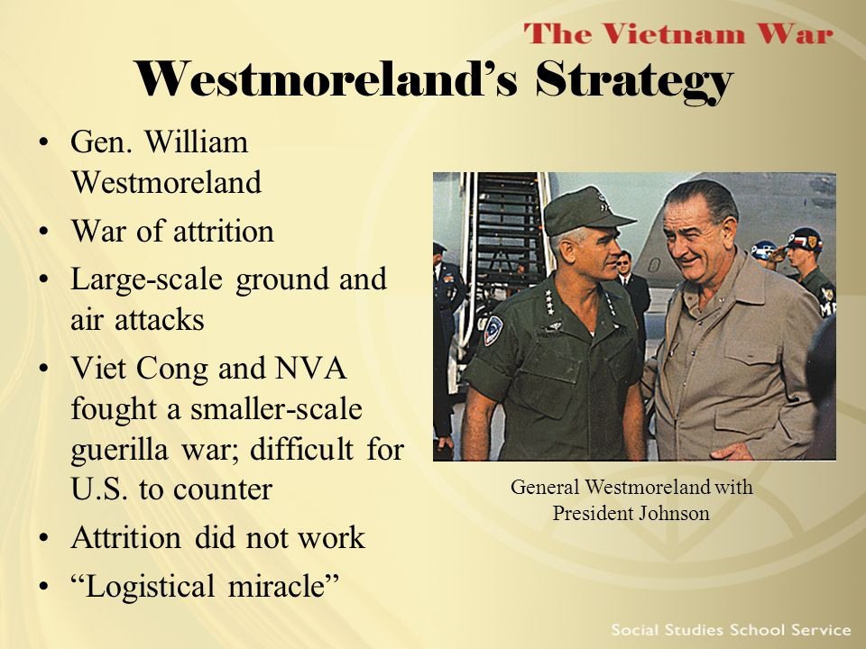 American Military Strategy in the Vietnam War, 1965–1973