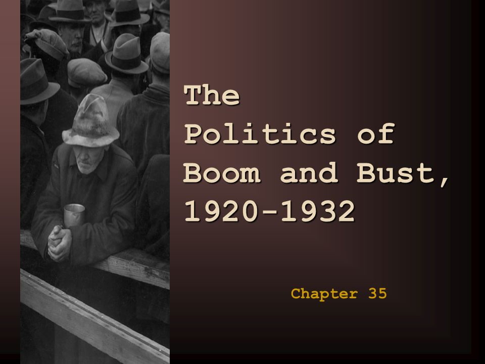 boom and bust 1920 1941