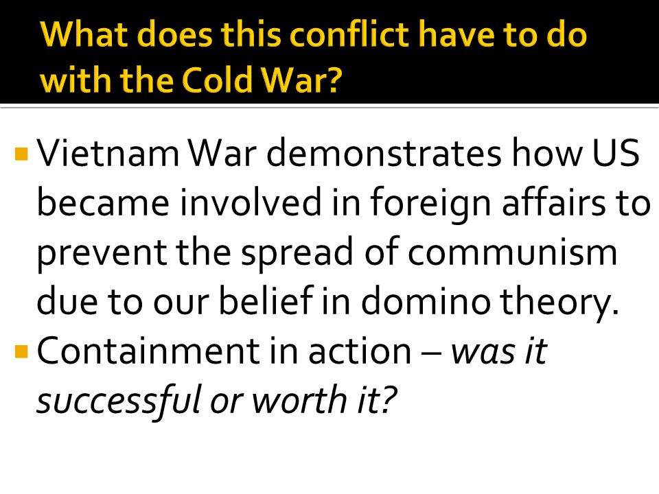 conflict theory in vietnam Was america's war in vietnam a noble struggle against communist aggression, a tragic intervention in a civil conflict, or an imperialist counterrevolution to crush a movement of national.