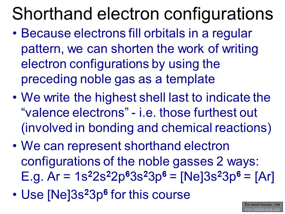 Orbitals And Electron Configurations - Ppt Video Online Download