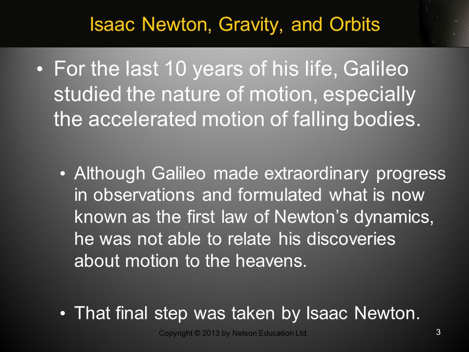 gravity isaac newton and astronomy - photo #29