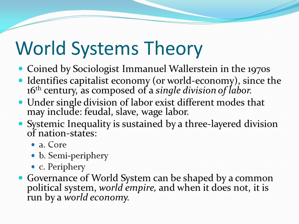 the role of the united states in the system of globalization Will the us long continue to be the only superpower in the international system  role they show that united states  america abroad: the united states.