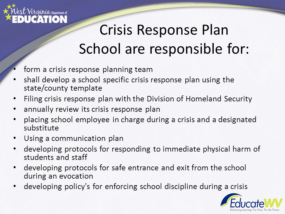 how to develop a crisis communications plan