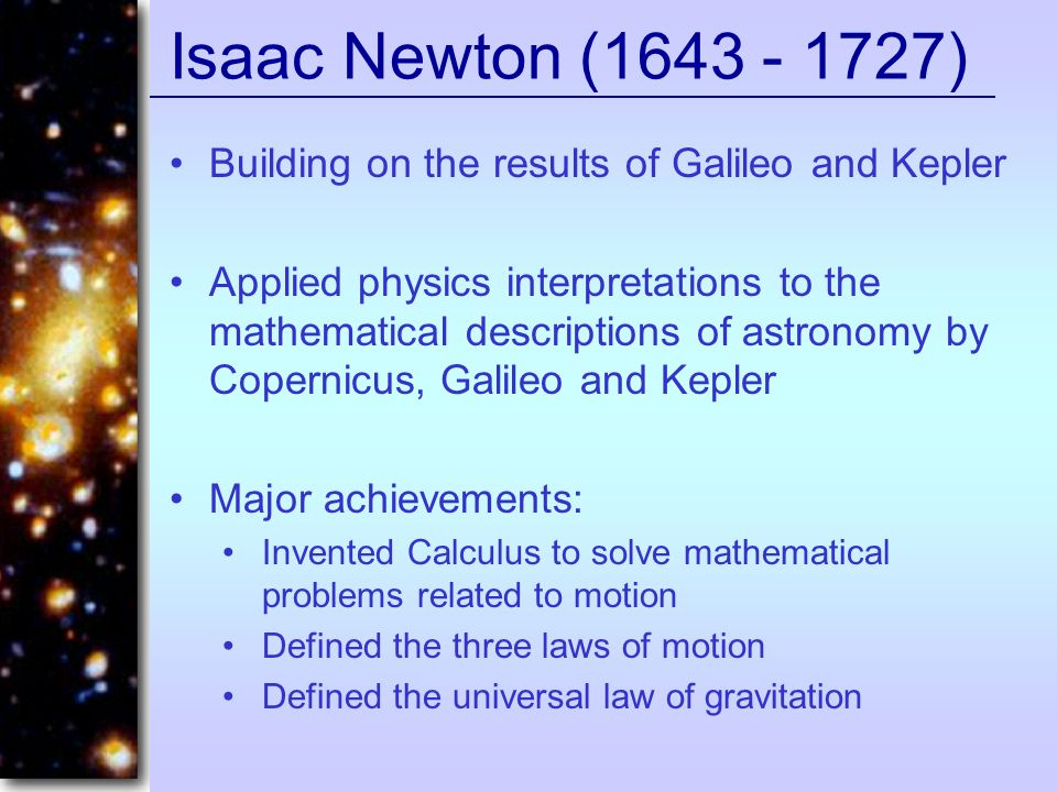 gravity isaac newton and astronomy - photo #24