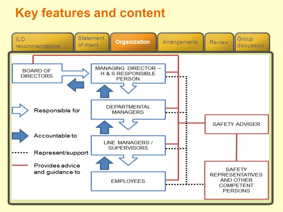 Key features and content