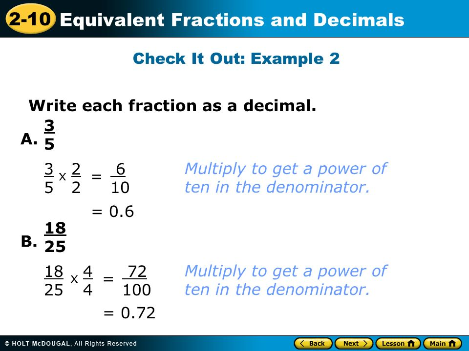 Warm Up Write each fraction in the simplest form - ppt video ...