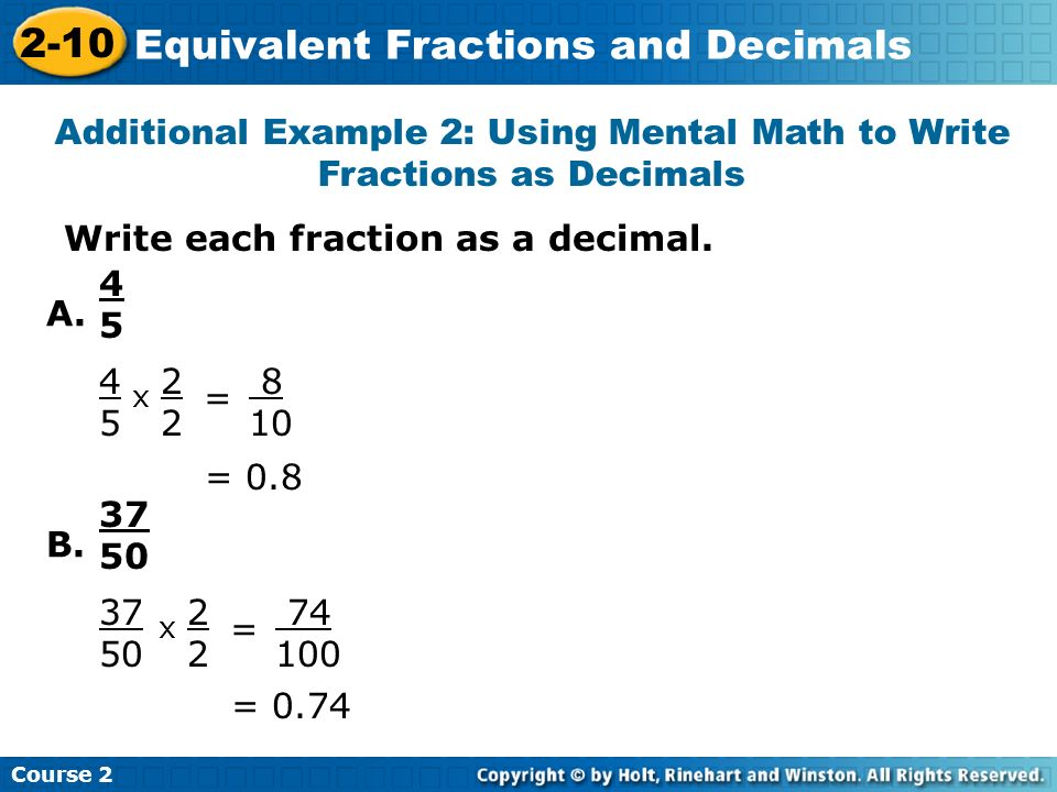 What is an equivalent fraction for 2/12