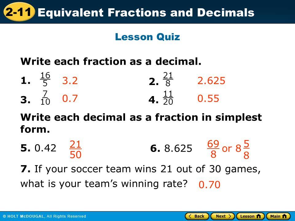Vocabulary rational number terminating decimal repeating decimal ...