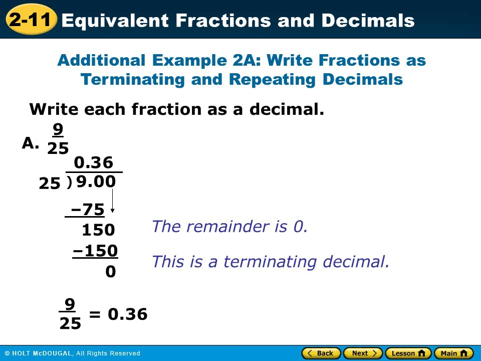 Write Each Fraction As A Decimal Laptuoso – Terminating and Repeating Decimals Worksheet