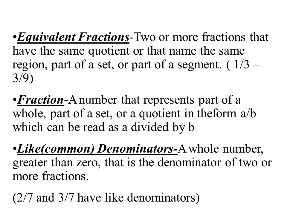 how to find the quotient of two fractions
