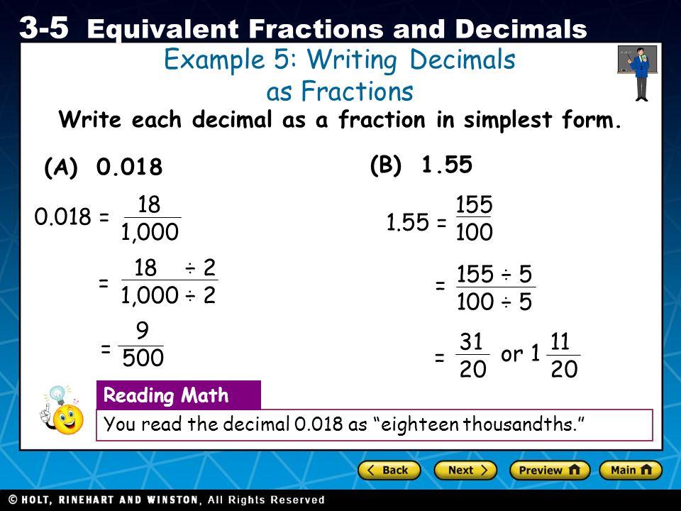Mathway | Convert to a Decimal 1/15