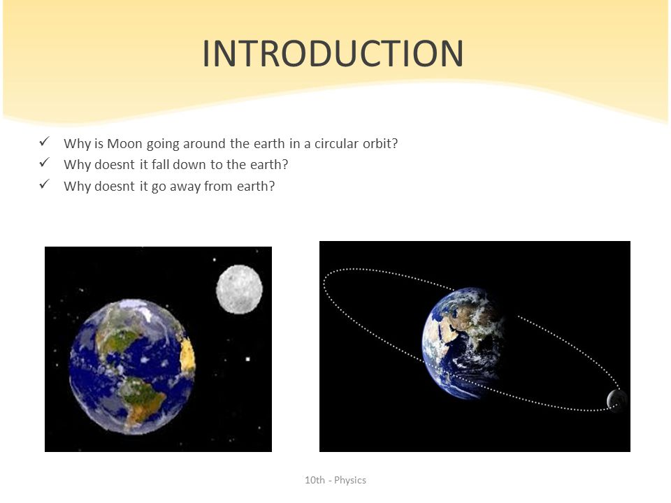 GRAVITATION 10th Grade – Physics 10th - Physics. - ppt ...