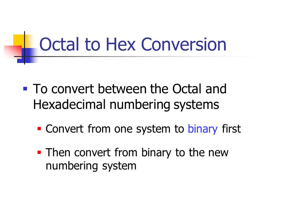 binary and hexidecimal numbering systems Counting with different number systems but you don't have to use 10 as a base you could use 2 (binary), 16 (hexadecimal), or any number you want to.