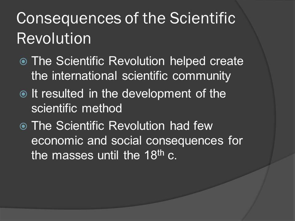 the development of the scientific revolution History of science: history of science, the development of science over time the scientific revolution copernicus tycho.