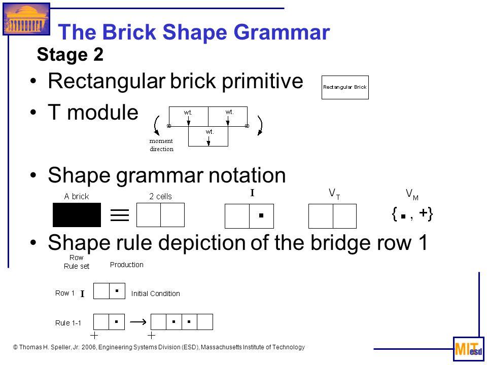 The Brick Shape Grammar