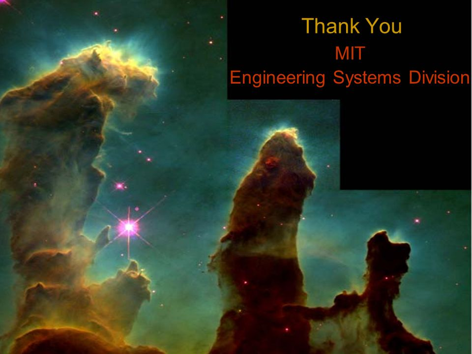 MIT Engineering Systems Division