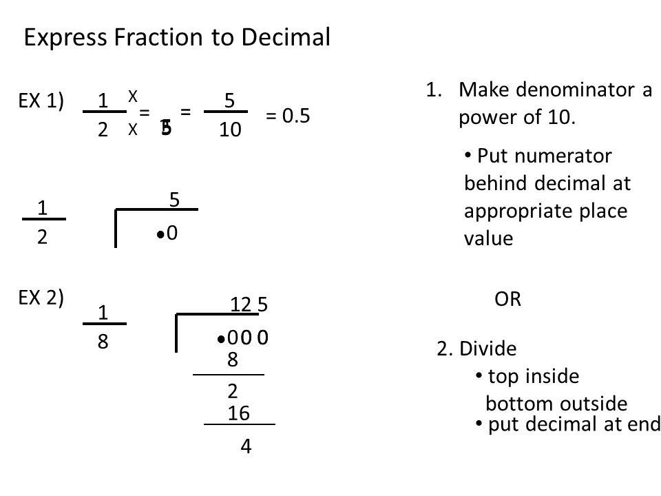 Terminating & Repeating Decimal - ppt video online download