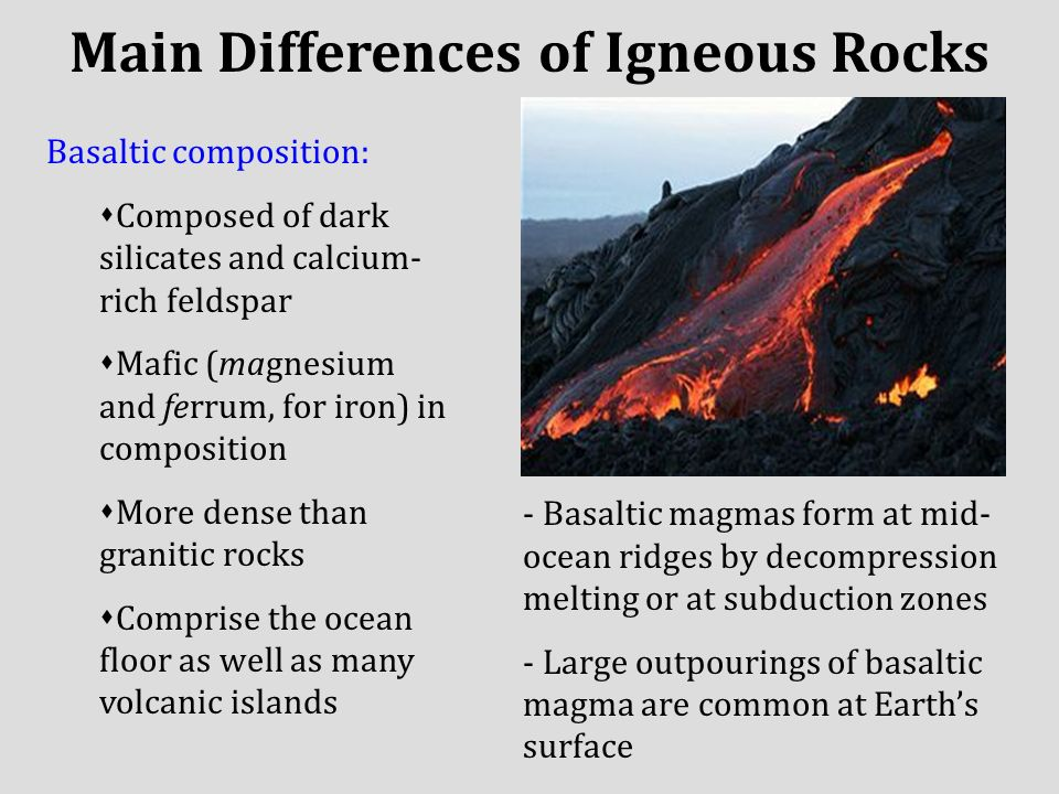Igneous Rocks: Forged By Fire - ppt video online download