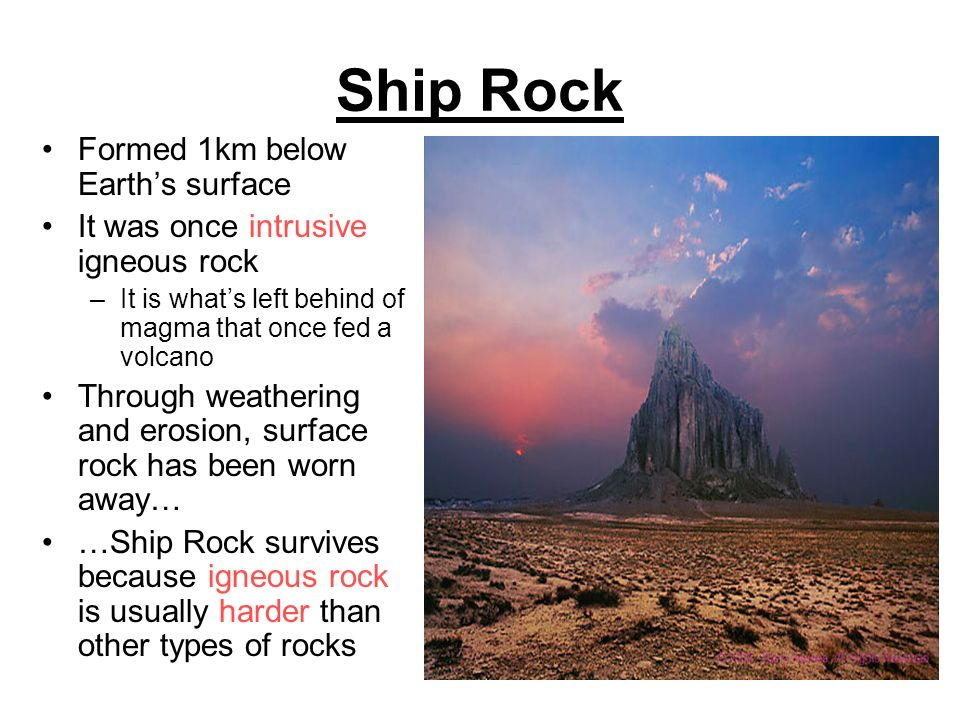 how to know if a planet has igneous rocks