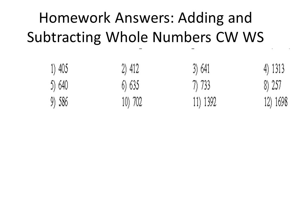 adding and subtracting whole numbers worksheet pdf