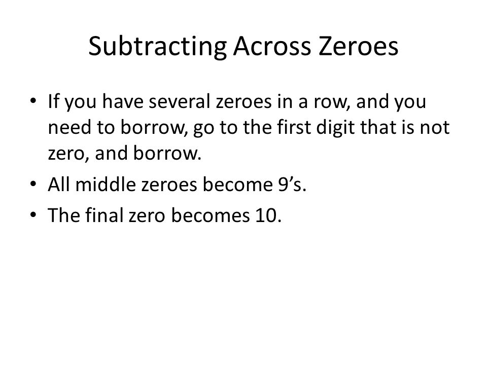 1-1 Adding And Subtracting Whole Numbers - Ppt Download