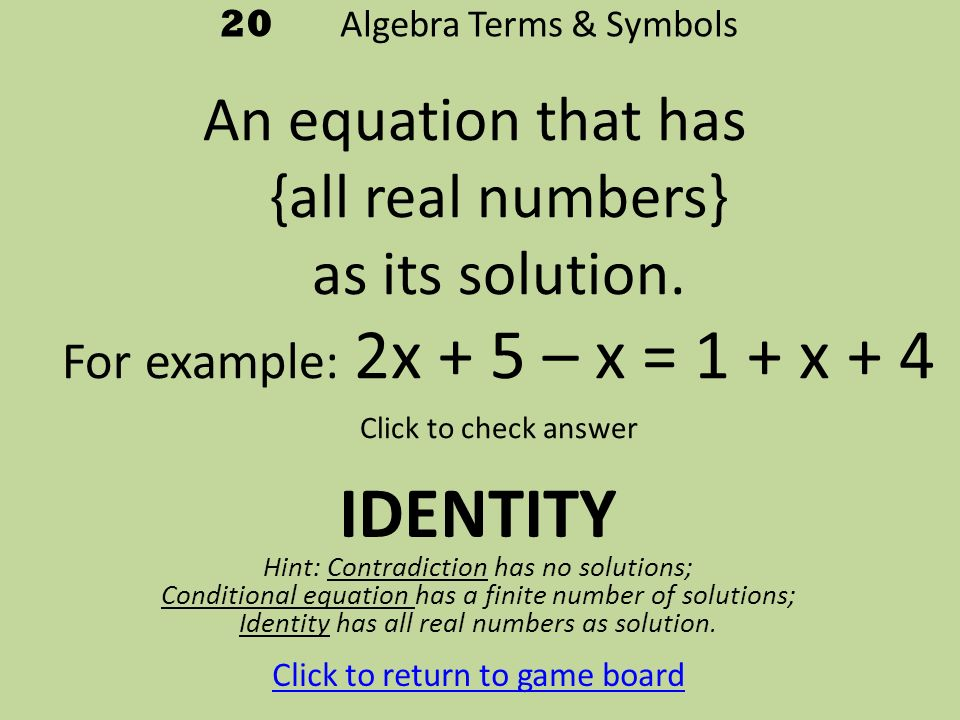 Write an absolute value equation that has 3 and 11 as its solution
