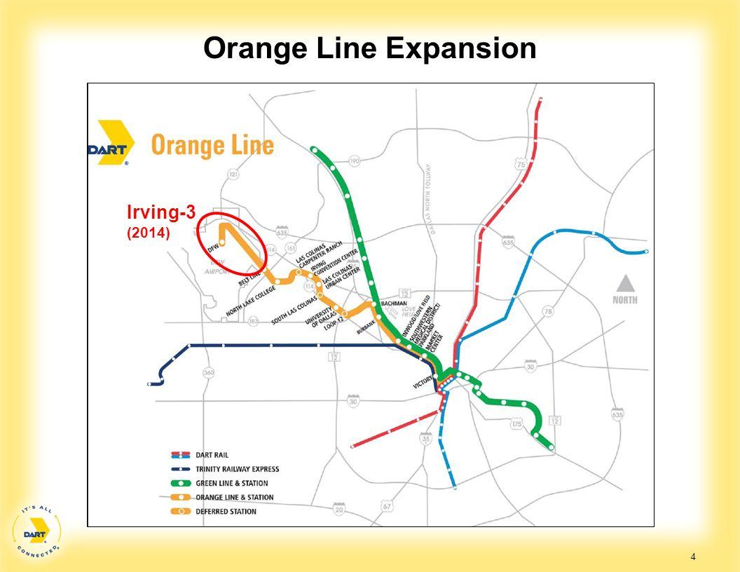 Orange Line Expansion Irving-3 (2014)