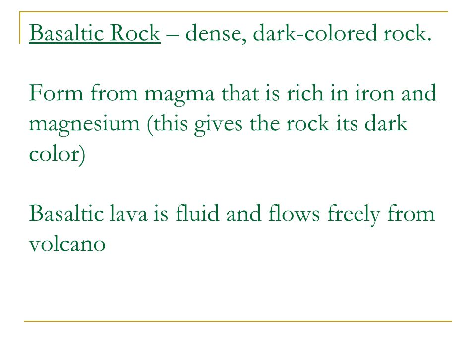 Chapter 3 – Section 2 Igneous Rocks Open your books to page 62 AND ...