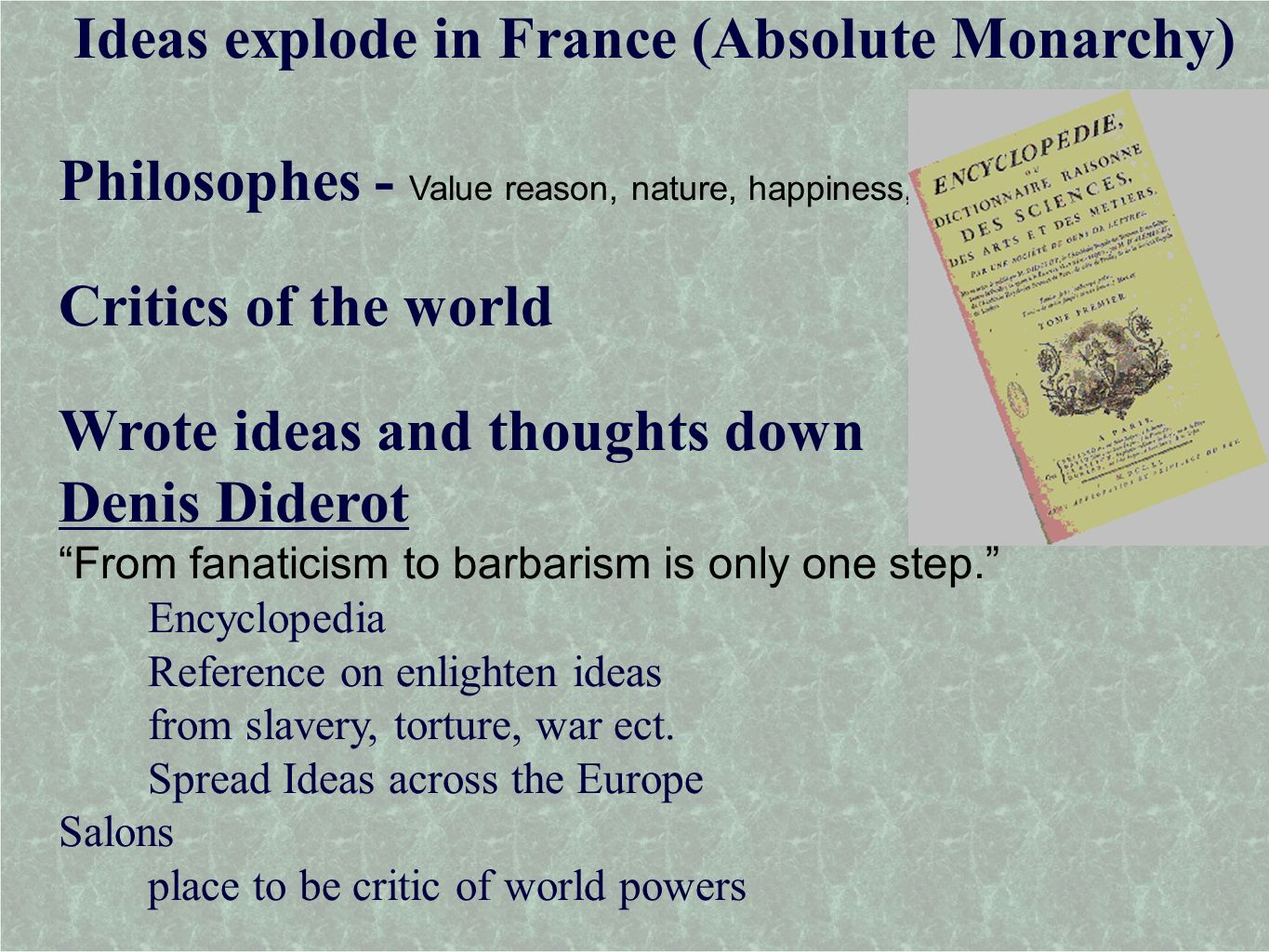 absolute monarchs and the scientific revolution