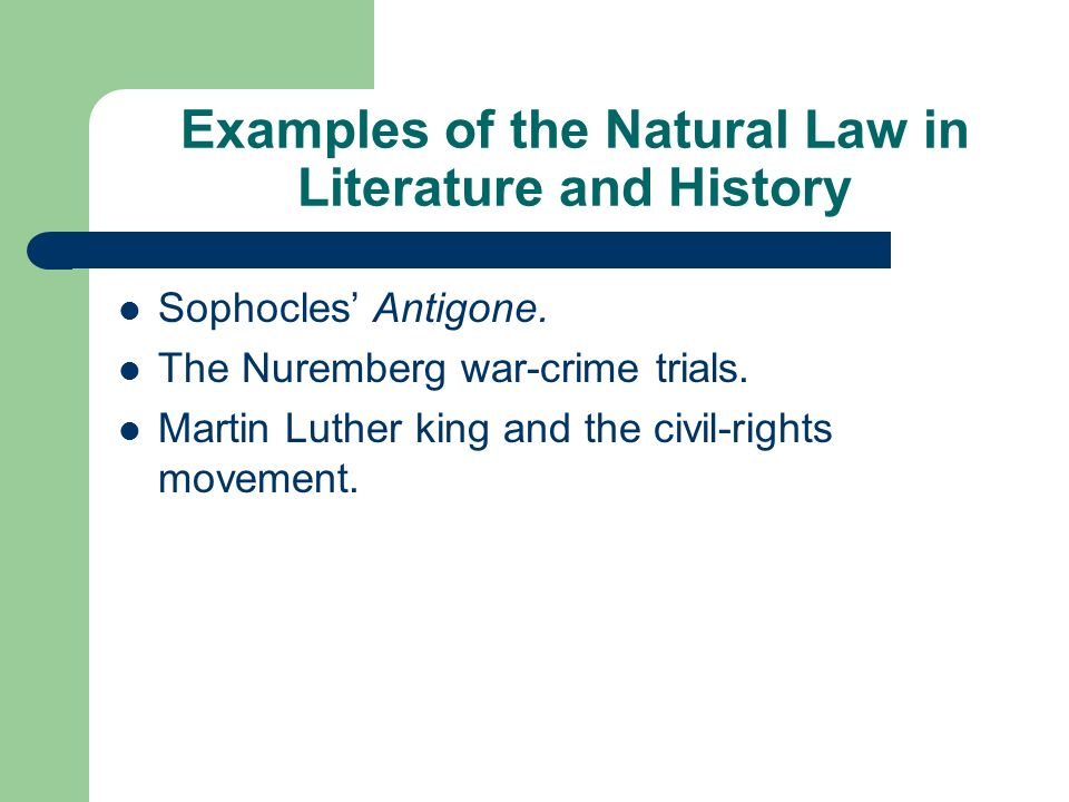 a history of the theory of natural law a moral philosophy theory The new natural law (nnl) theory, sometimes also called the new classical natural law theory, is the name given a particular revival and revision of thomistic natural law theory, initiated in the 1960s by germain grisez.