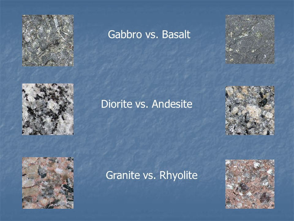 Granite Vs Basalt : Granite is a mixture of ppt video online download