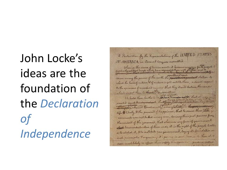 john locke and the declaration of A brief discussion of the life and works of john locke, with links to electronic texts and additional information.