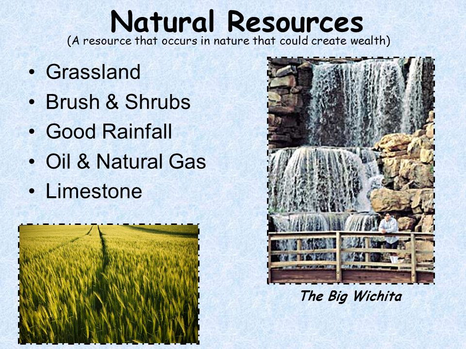 Natural Resources In The Coastal Region Grassland