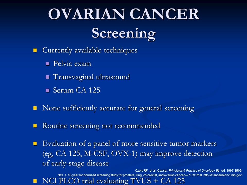 risk factors of ovarian cancer pdf