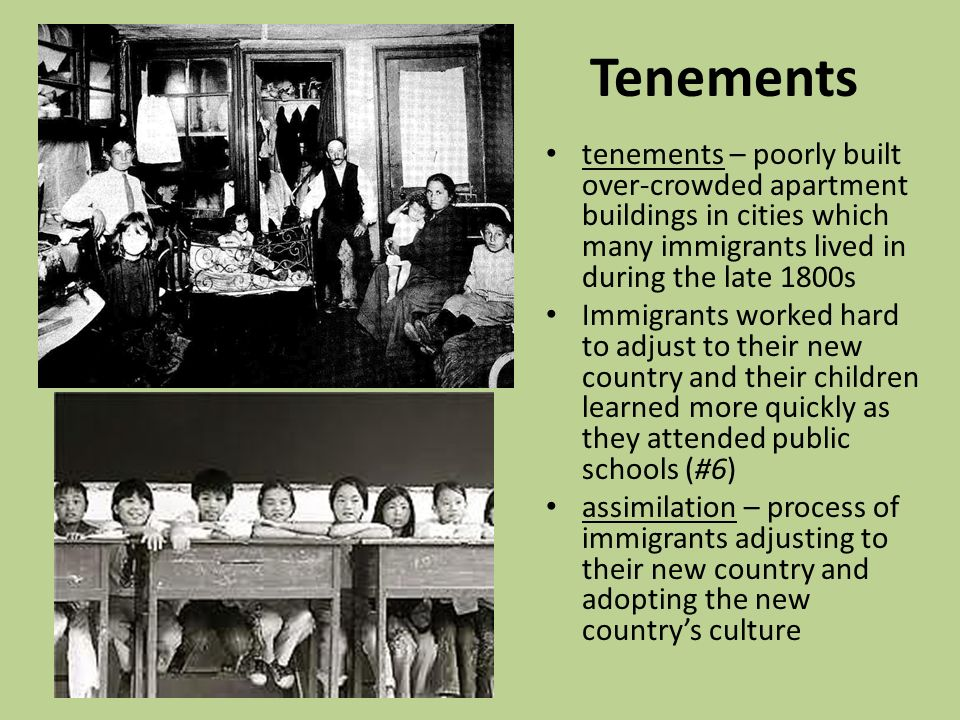 problems immigration during late 1800s Industrialization, urbanization, and immigration  which was the traditional point of origin for european immigrants to the united states during the 1890s, though, new immigrants began.