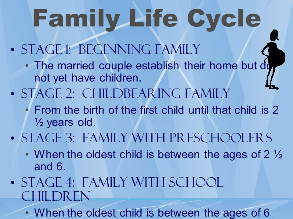 Family Life Cycle Stage 1: Beginning Family