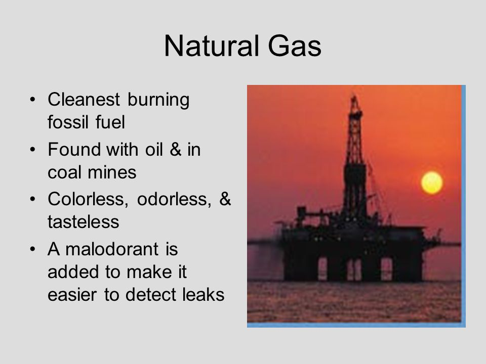 Temporary Smell Of Natural Gas